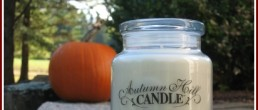 Falling into Fall with Autumn Hill Soy Candles