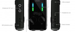 IKMultimedia Makes Recording easy with the new iRig Pro Duo