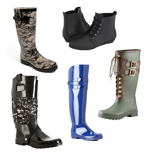 Stylish Rain Boots - Cr Boot