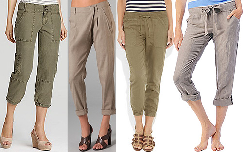 Cropped Linen Pants Make For a Casual Yet Sophisticated Summer ...