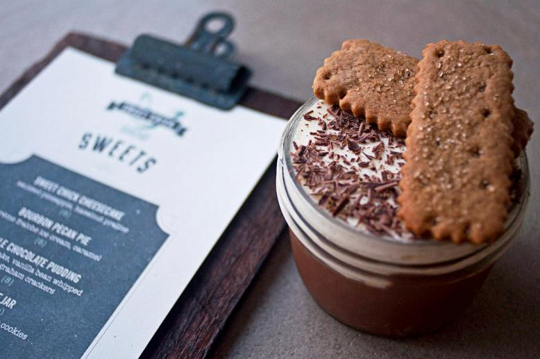 Sweet Chick double chocolate pudding