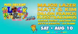 Mad Decent Block Party 2013