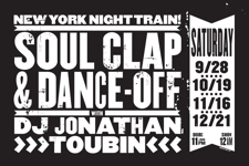 SOUL CLAP & DANCE-OFF with DJ JONATHAN TOUBIN