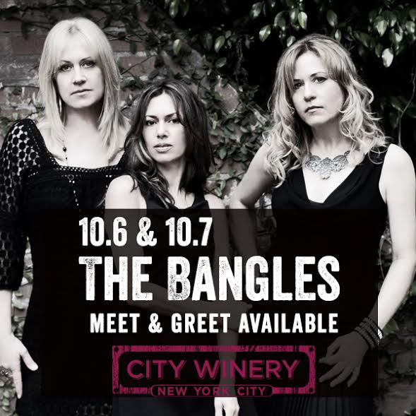 CONTEST: Win a Pair of Tickets to see The Bangles @ City Winery, 10.7.14