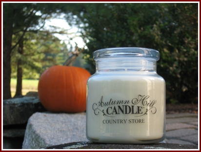 Autumn Hill Candle Company's Colonial Jar