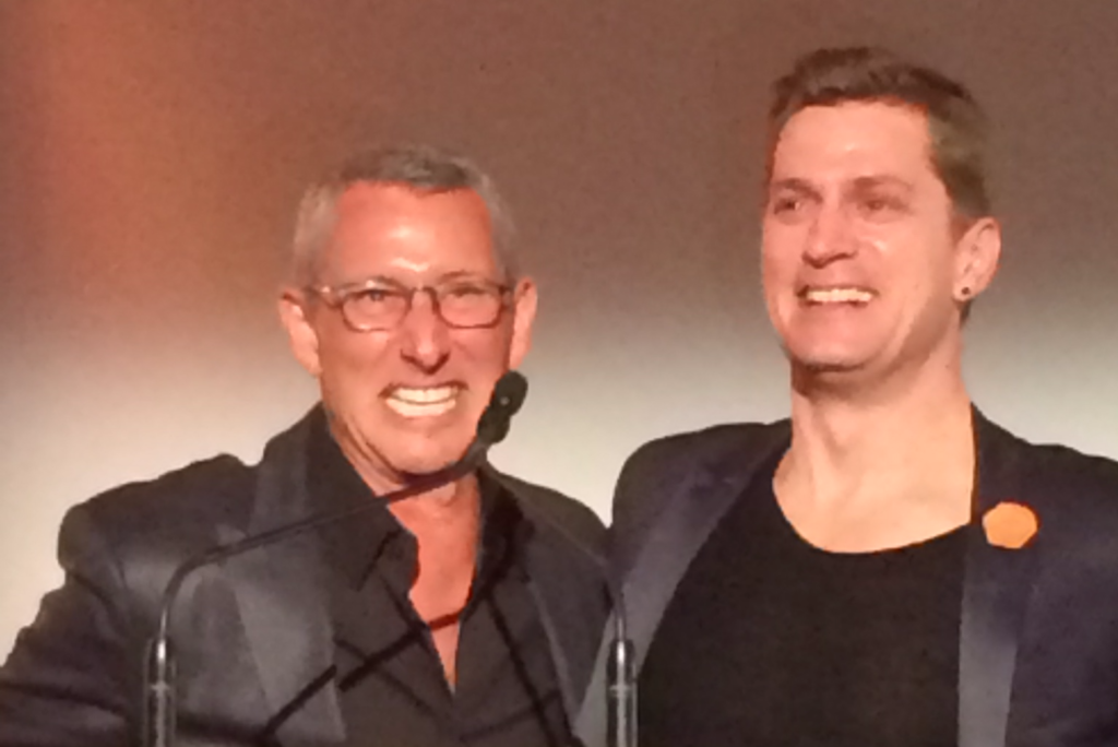 Adam Shankman and Rob Thomas