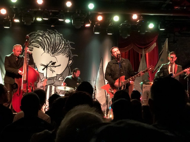 JD McPherson and Eddie Angel's Guitar Party @ Brooklyn Bowl 12/4/2018