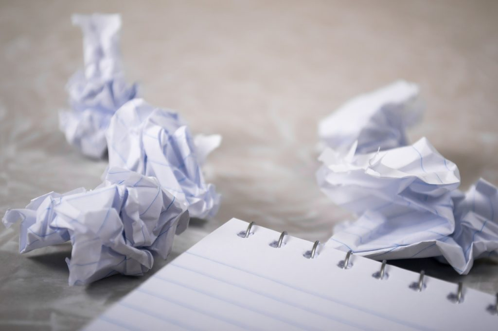 A Matter of Focus: How to Overcome Writer's Block